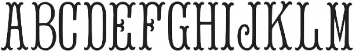 Bees Knees Regular otf (400) Font UPPERCASE