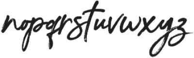 Beforth SVG otf (400) Font LOWERCASE