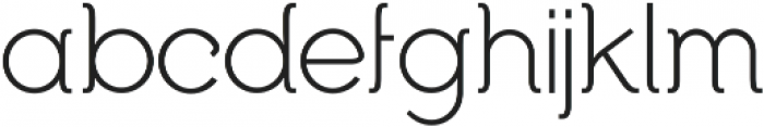 Begade otf (300) Font LOWERCASE