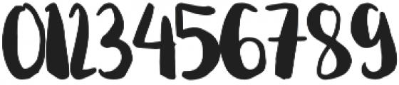 Begin Again Regular otf (400) Font OTHER CHARS