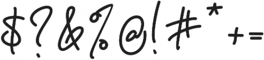 Behavior Indihome Regular otf (400) Font OTHER CHARS