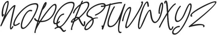 Behavior Indihome Slant ttf (400) Font UPPERCASE