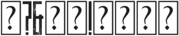 Behemoth Distressed otf (400) Font OTHER CHARS
