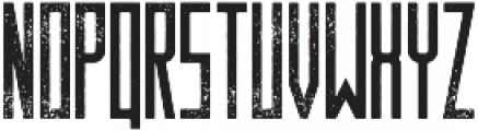 Behemoth Distressed otf (400) Font UPPERCASE