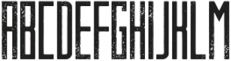Behemoth Distressed otf (400) Font LOWERCASE