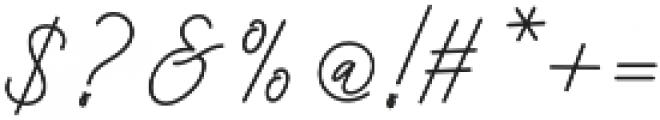 Bekafonte otf (400) Font OTHER CHARS