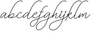Bekafonte otf (400) Font LOWERCASE