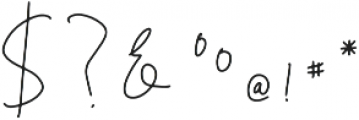 Belashic otf (400) Font OTHER CHARS