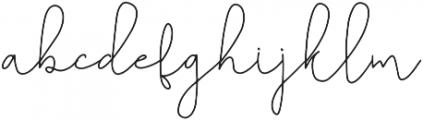 Belashic otf (400) Font LOWERCASE