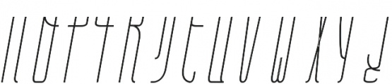 Belau Tall Deco SemiBCursive otf (400) Font LOWERCASE