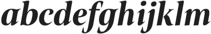 Belda Cond Black Italic otf (900) Font LOWERCASE