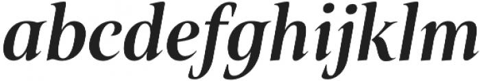Belda Cond Bold Italic otf (700) Font LOWERCASE