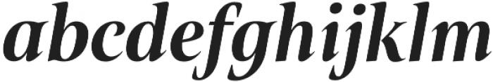 Belda Cond ExBold Italic otf (700) Font LOWERCASE