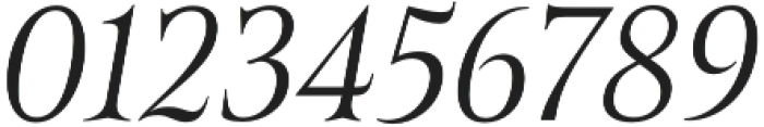 Belda Cond Light Italic otf (300) Font OTHER CHARS