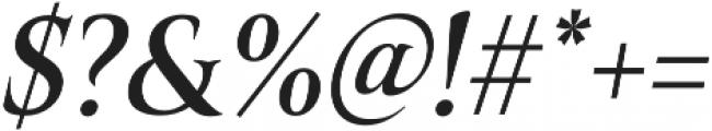 Belda Cond Medium Italic otf (500) Font OTHER CHARS