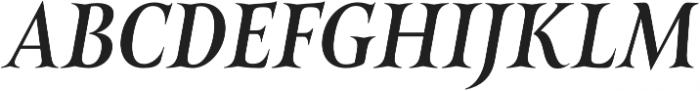 Belda Cond Medium Italic otf (500) Font UPPERCASE