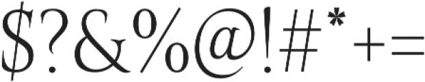 Belda Cond Thin otf (100) Font OTHER CHARS