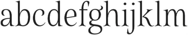Belda Cond Thin otf (100) Font LOWERCASE