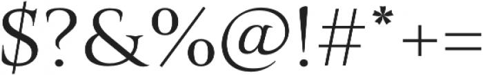 Belda Ext Book otf (400) Font OTHER CHARS