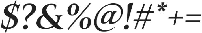 Belda Ext Demi Italic otf (400) Font OTHER CHARS