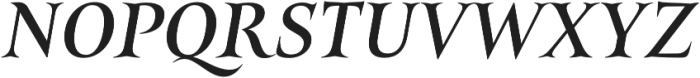 Belda Ext Medium Italic otf (500) Font UPPERCASE