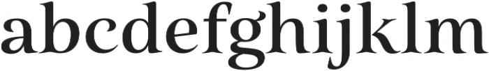 Belda Ext Medium otf (500) Font LOWERCASE