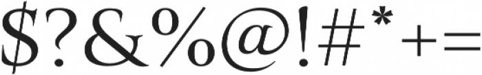 Belda Ext Regular otf (400) Font OTHER CHARS