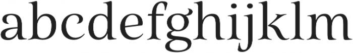 Belda Ext Regular otf (400) Font LOWERCASE