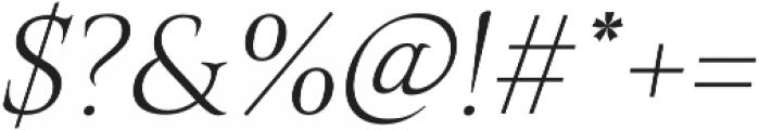 Belda Ext Thin Italic otf (100) Font OTHER CHARS