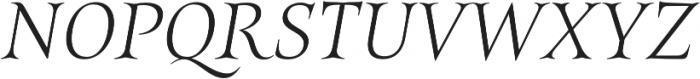 Belda Ext Thin Italic otf (100) Font UPPERCASE