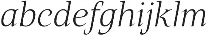 Belda Ext Thin Italic otf (100) Font LOWERCASE