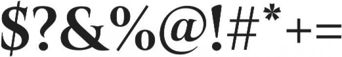 Belda Norm Bold otf (700) Font OTHER CHARS