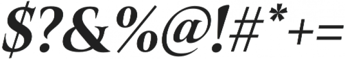 Belda Norm ExBold Italic otf (700) Font OTHER CHARS