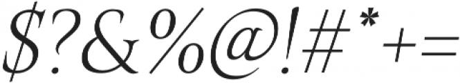 Belda Norm Thin Italic otf (100) Font OTHER CHARS