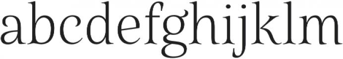 Belda Norm Thin otf (100) Font LOWERCASE
