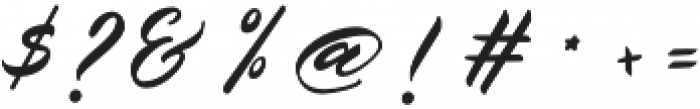 Belgiansignature otf (400) Font OTHER CHARS