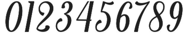 Belinda otf (400) Font OTHER CHARS