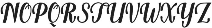 Belinda otf (400) Font UPPERCASE
