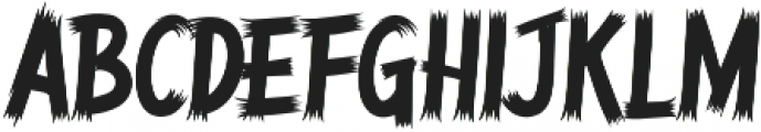 Belinjangan otf (400) Font LOWERCASE