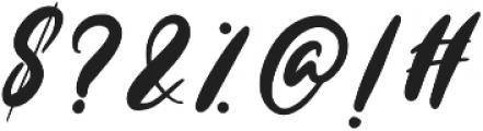 Bellaluna otf (400) Font OTHER CHARS