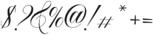 Bellanaisa otf (400) Font OTHER CHARS