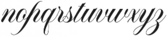Bellanaisa otf (400) Font LOWERCASE
