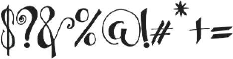 Bellanche Script Regular otf (400) Font OTHER CHARS