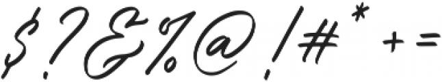Bellarinde otf (400) Font OTHER CHARS