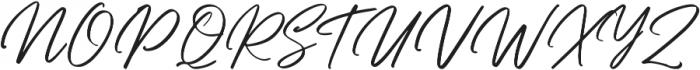 Bellarinde otf (400) Font UPPERCASE