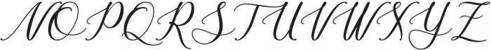 Bellasic otf (400) Font UPPERCASE
