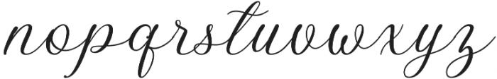 Bellasic otf (400) Font LOWERCASE