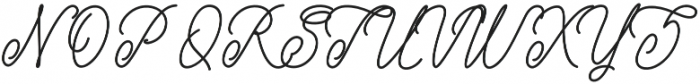 Bellati otf (400) Font UPPERCASE