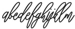 Bellati otf (400) Font LOWERCASE