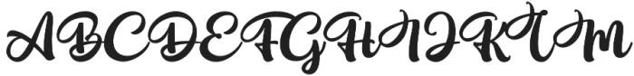 Bellatine Pro Alt 2 otf (400) Font UPPERCASE